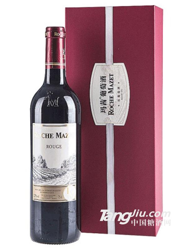 12.5°卡思黛乐castel玛茜红葡萄酒-750ml