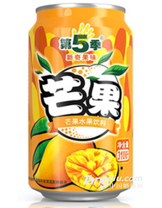 第5季芒果口味水果饮料310ml