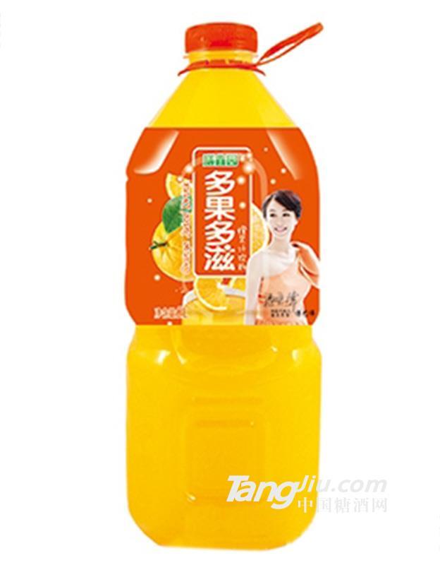膳鑫园多果多滋橙果味饮料2L