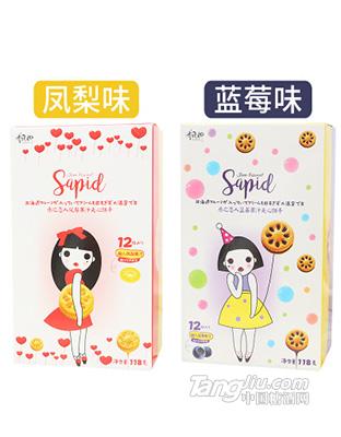凤梨果汁夹心饼干零食118g