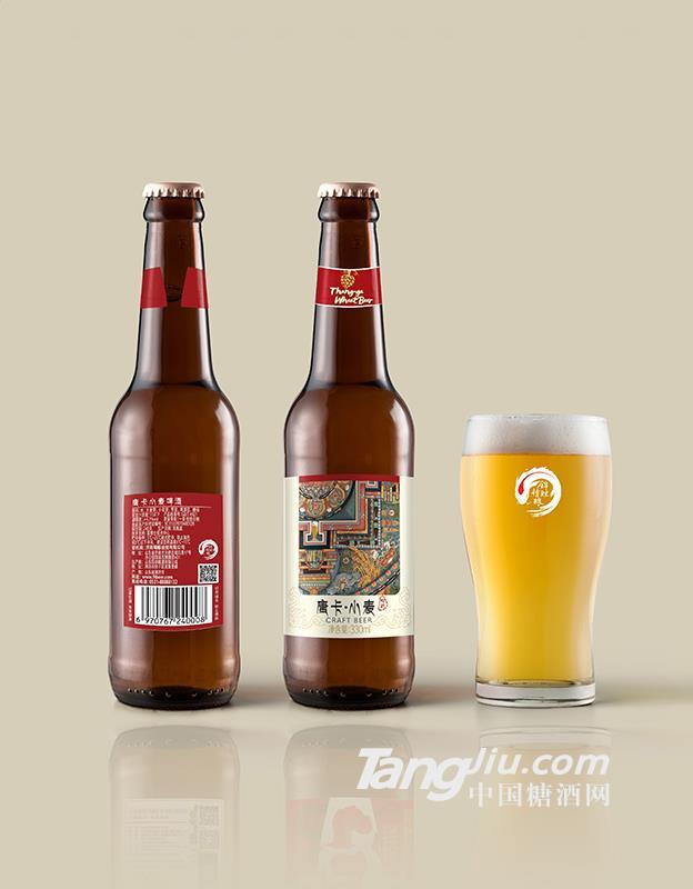 唐卡小麦瓶装啤酒-330ml
