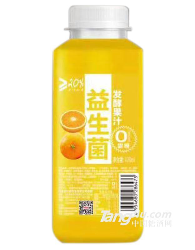 益生菌甜橙发酵果汁-420ml
