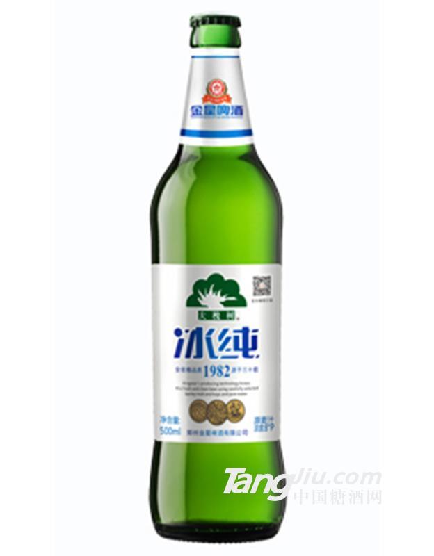 金星大槐树冰纯啤酒 500ml