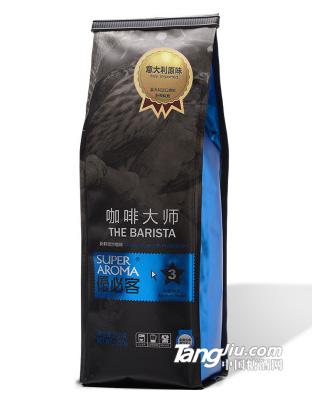 意大利特浓香醇咖啡可现磨纯咖啡粉250g