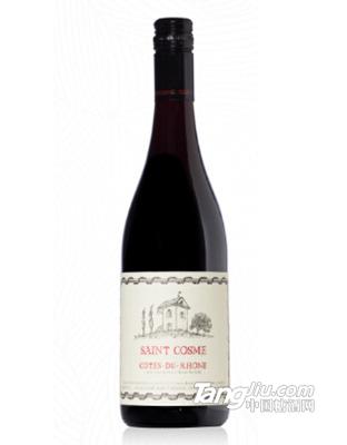圣戈斯庄罗纳河谷丘红葡萄酒