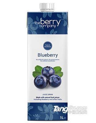 The Berry Company – 藍莓汁1L