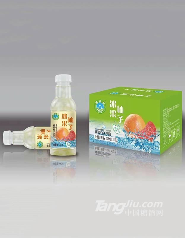 壹滋雅冰果蜂蜜柚子饮品-445ml*15