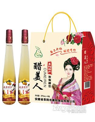 果兴旺-秋梨醋饮-375ml
