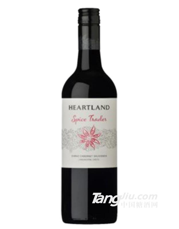 750ml卡特维拉香料商人干红葡萄酒