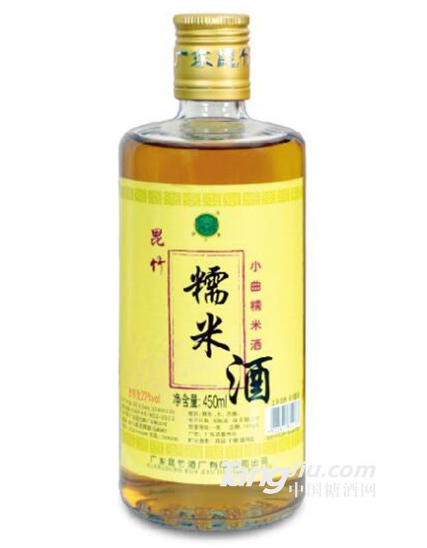 昆竹糯米酒22度