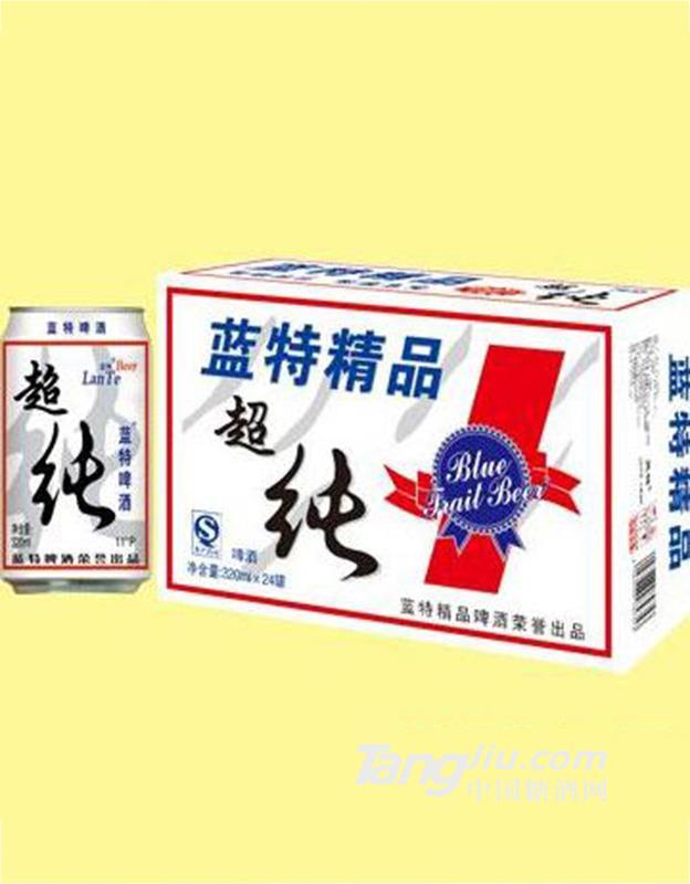 蓝特精品超纯啤酒 320ml