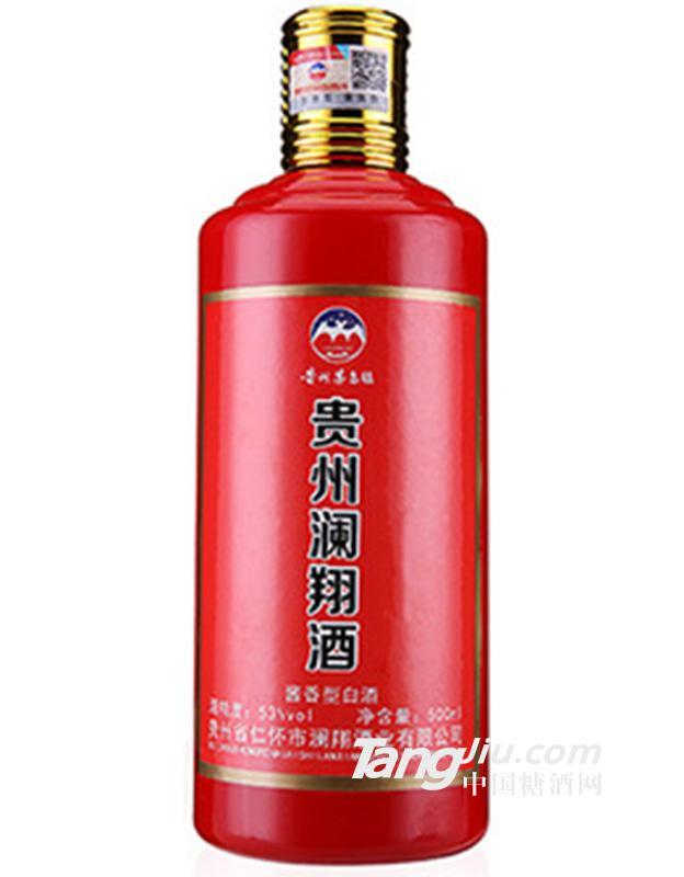 澜翔酒红色分享500ml