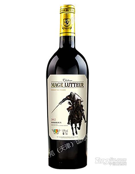 玛歌力士干红葡萄酒-骑士