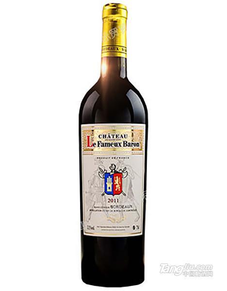 乐夫爵士家族干红葡萄酒-白标