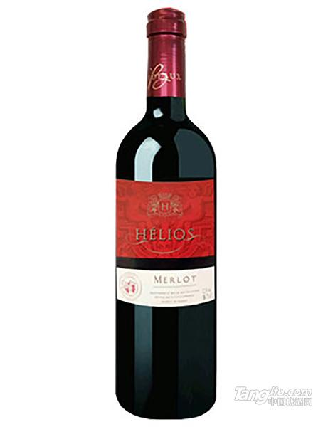 罗斯男爵美乐干红葡萄酒