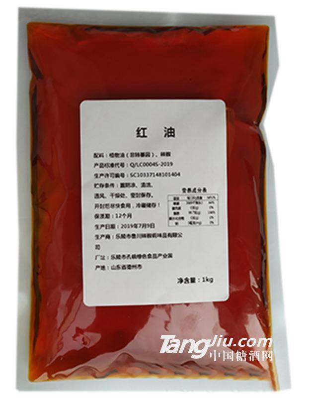 鲁川红油调味汁1kg