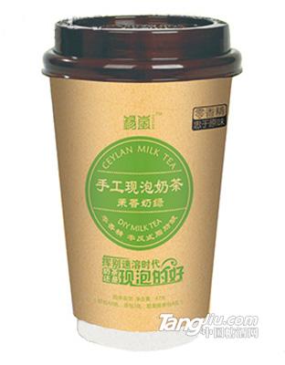锡岚手工现泡奶茶茉香奶绿固体饮料