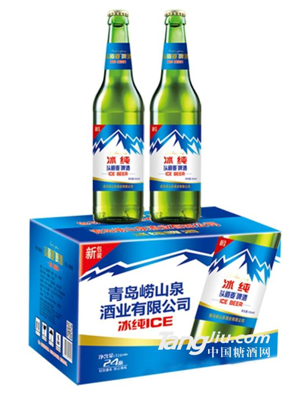 青岛崂山泉头道麦冰纯330ml