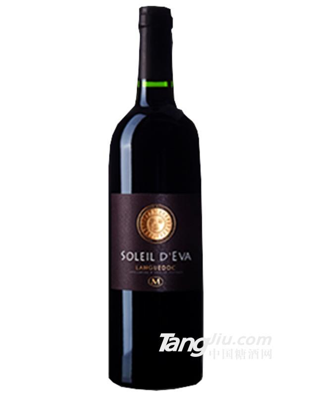 14.5°法国郎翠太阳王干红葡萄酒750ml