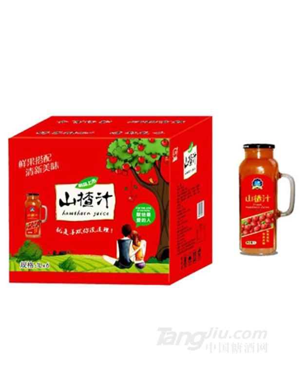 汇甜山楂汁1LX6