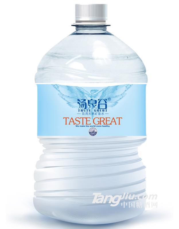 汤泉谷天然矿泉水4.5L