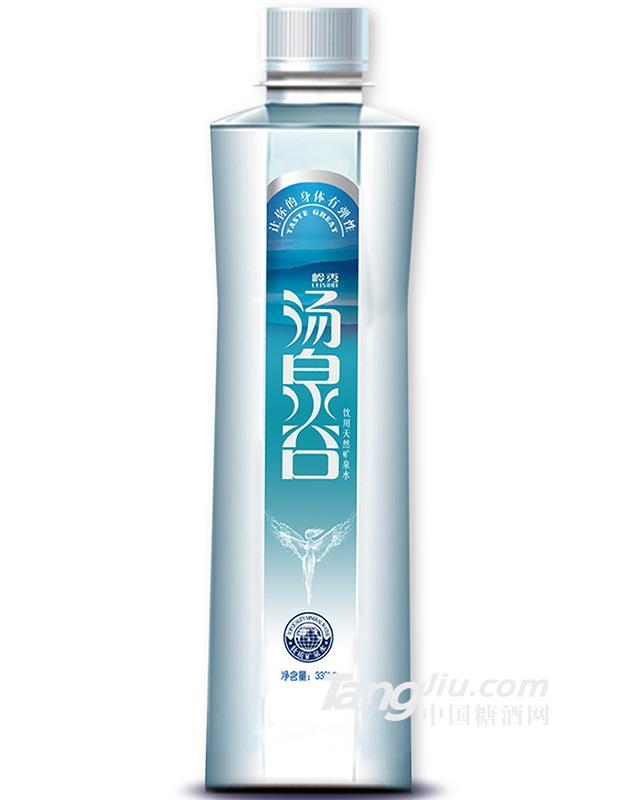 汤泉谷VIP天然矿泉水338ml