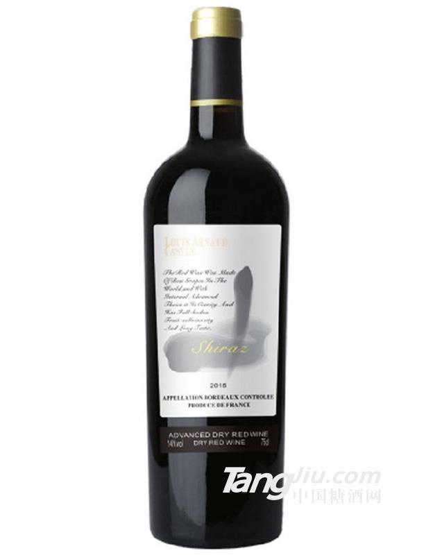陆易艾诺安城堡美乐干红葡萄酒C19