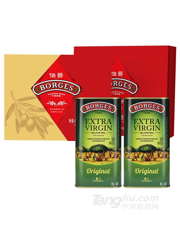 伯爵特级初榨橄榄油1Lx2优选礼盒新礼盒