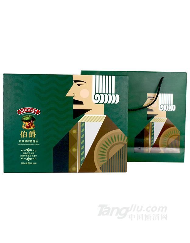 伯爵特级初榨橄榄油地中海之星礼盒
