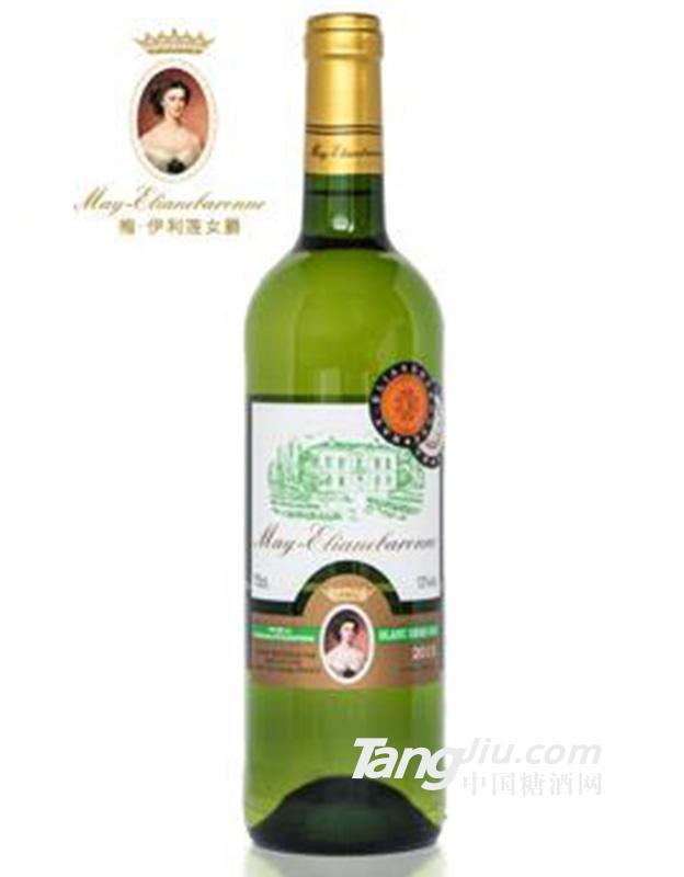 梅・伊利莲女爵半干白葡萄酒X1 750ml