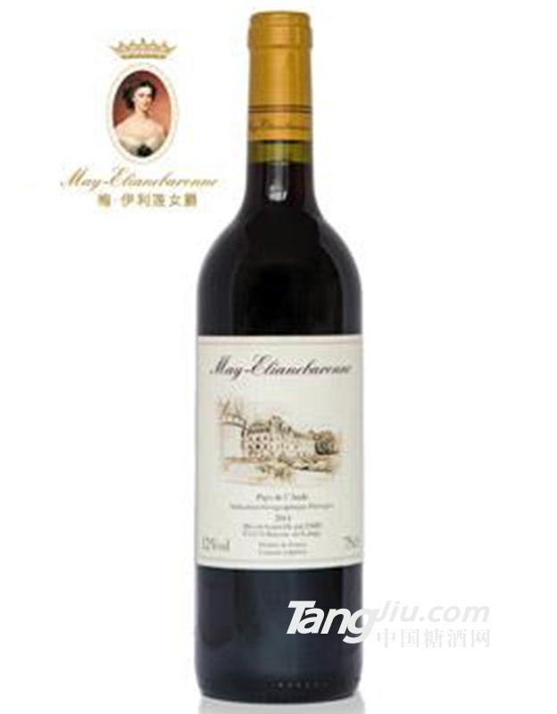 梅・伊利莲女爵古堡红葡萄酒X1 750ml