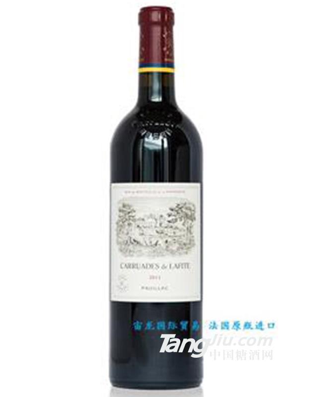 拉菲卡许德古堡红葡萄酒X1 750ML