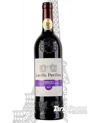 拉维亭美乐干红葡萄酒