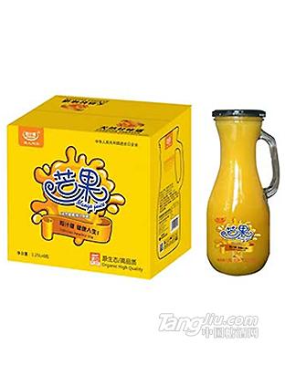 粒汁健芒果果汁饮料1.5L
