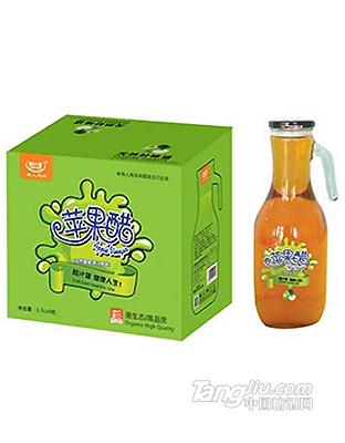 粒汁健苹果醋果汁饮料原汁原味1.5L