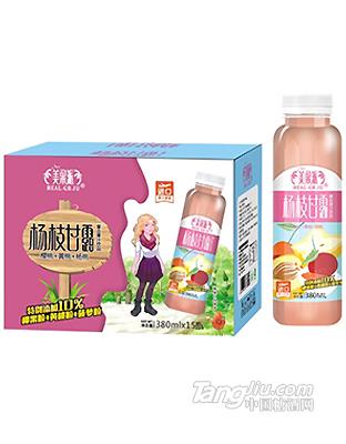 美果派杨枝甘露复合果汁380ml