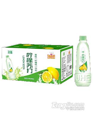 美果派柠檬苏打果味饮料400mlx24瓶