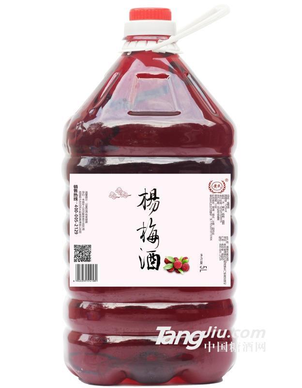 12°黄氏杨梅酒(桶装)-5L