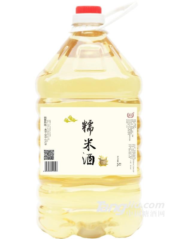 12°黄氏糯米酒(桶装)-5L