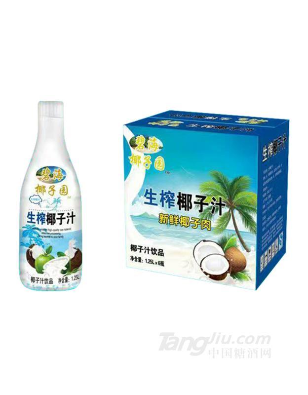 碧海椰子园生榨椰子汁饮品