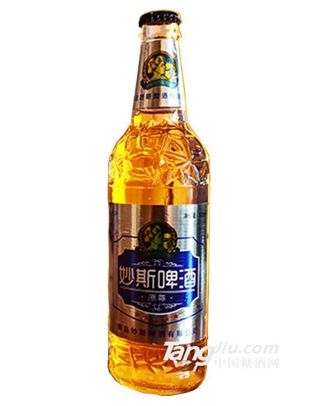 妙斯啤酒原尊瓶装500ml