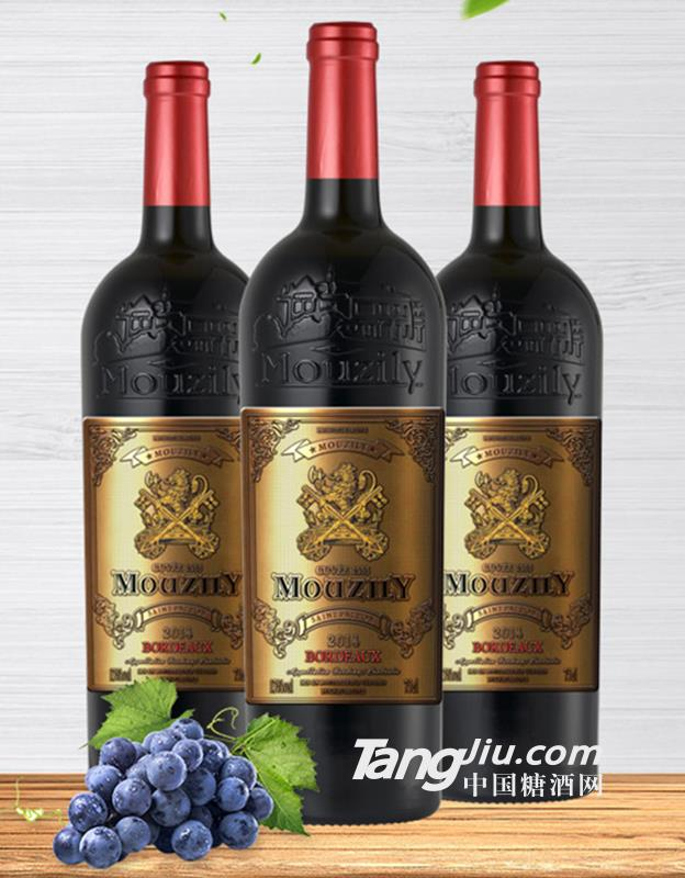 穆泽守护神干红葡萄酒-750ml-13°P