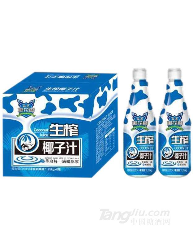 秘典椰花香生榨椰子汁1.25L×6瓶