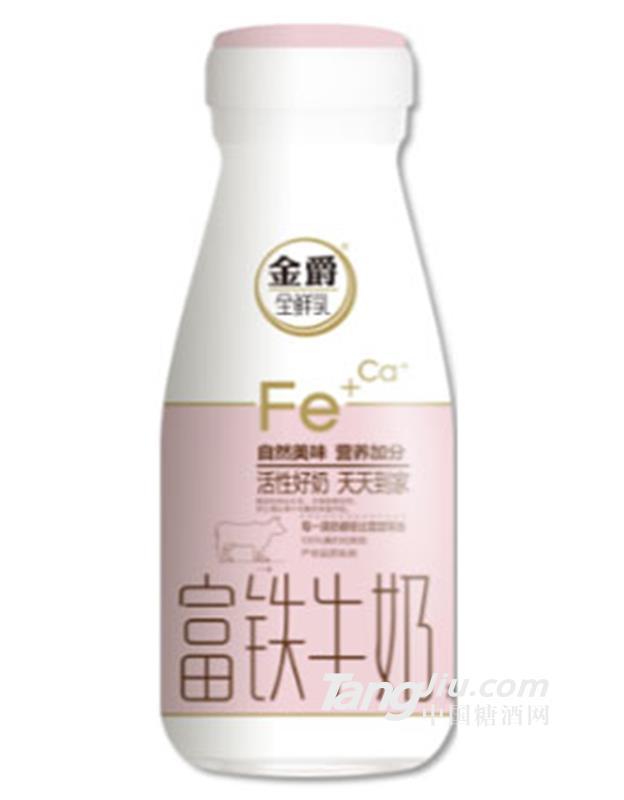 金爵订户奶—富铁牛奶190ml