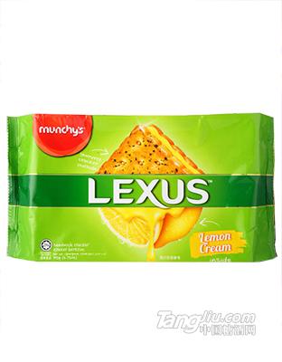 马奇新新-力士柠檬黄油味夹心饼干-190g