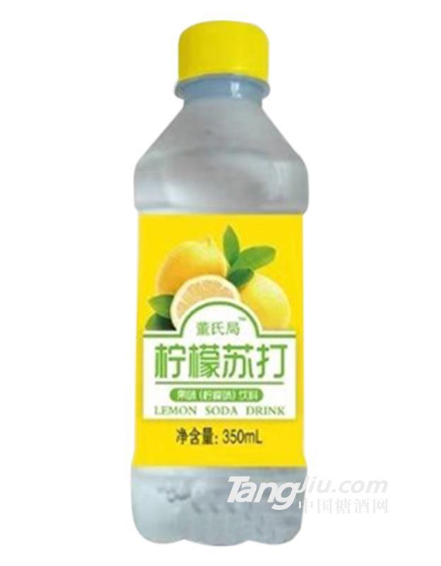 董氏局柠檬苏打饮料350ml