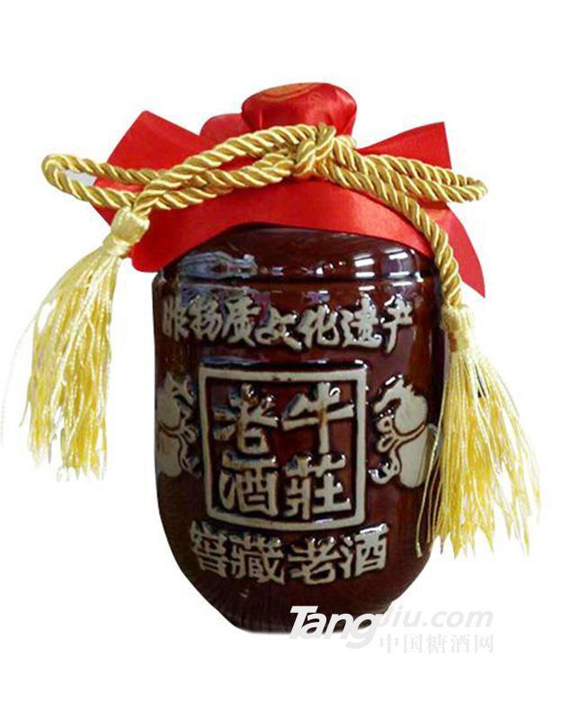 牛莊老酒一斤半坛子酒