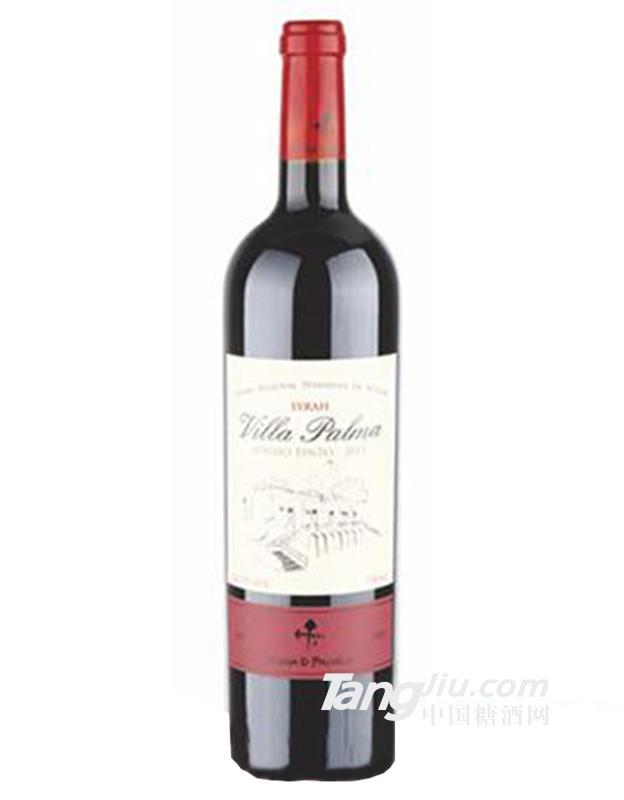 14.5°帕乐玛西拉干红葡萄酒750ml