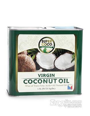 椰来香冷压初榨纯椰子油 1500ml