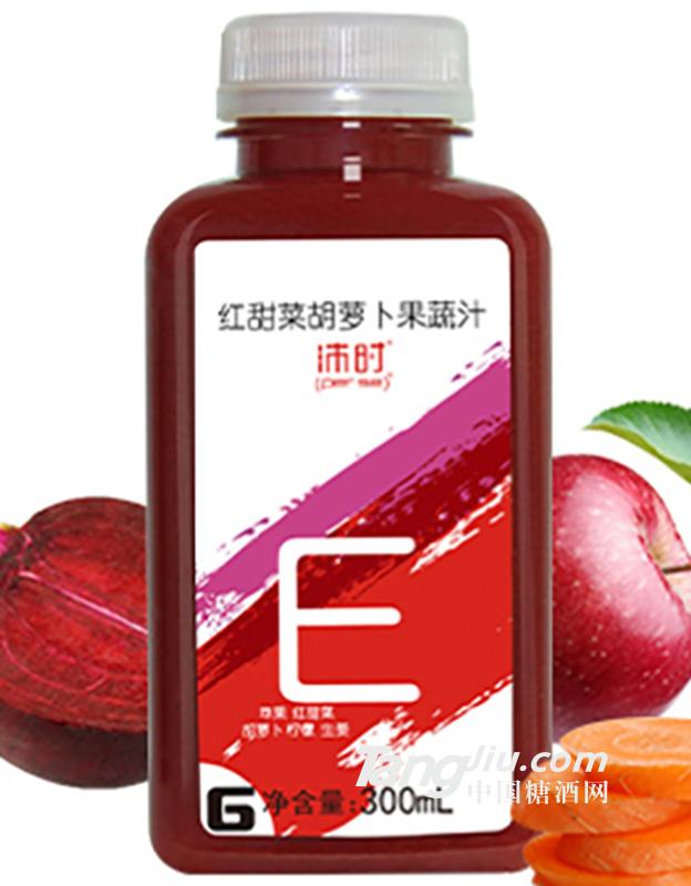 沛时红甜菜胡萝卜果蔬汁300ml